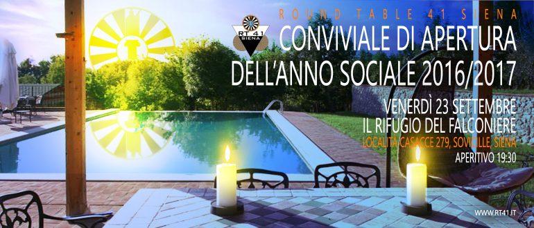 Invito apertura anno sociale 2016-2017 - SITO INTERNET
